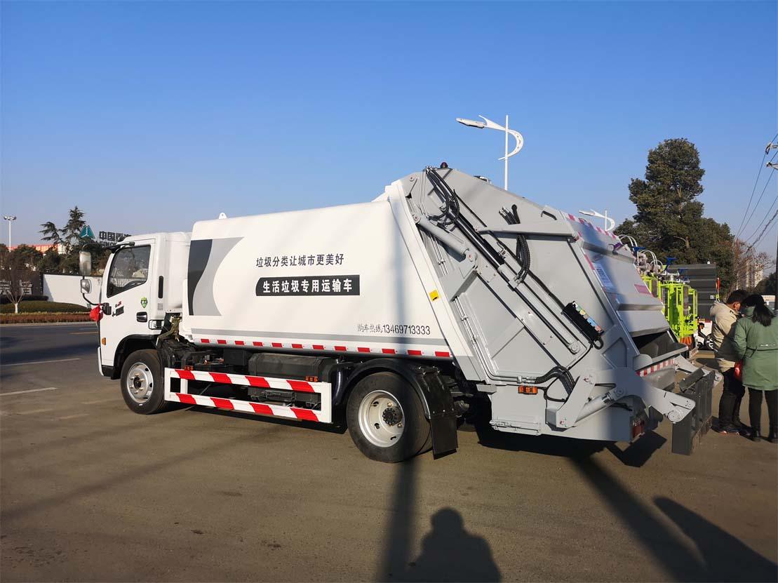 后装压缩式垃圾车操作使用说明书
