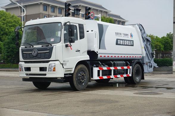 压缩式垃圾车为什么受到环保的重用